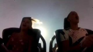 Titties on a roller coaster
