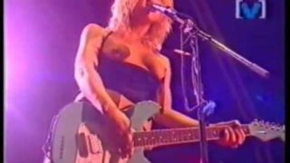 Before Tove Lo ever bared her bosom, there was Courtney Love (a classic!!!) : Celebrity Skin-Hole
