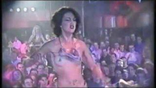 Vintage strippers : Veronica's Miss Pinup 1999 – Striptease