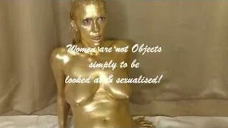 Golden Statues Come to Life