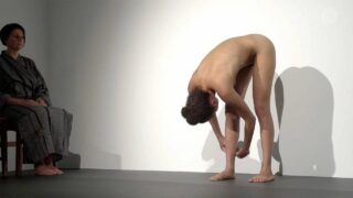 Another performance art video. At the beginning, and then some later on.